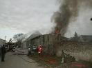 Brand eines Wirtschaftsgebäudes