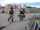 Brand und Atemschutzübung Wallern 2010